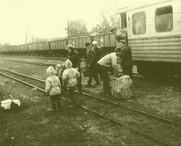 1987 станция Керженец-1