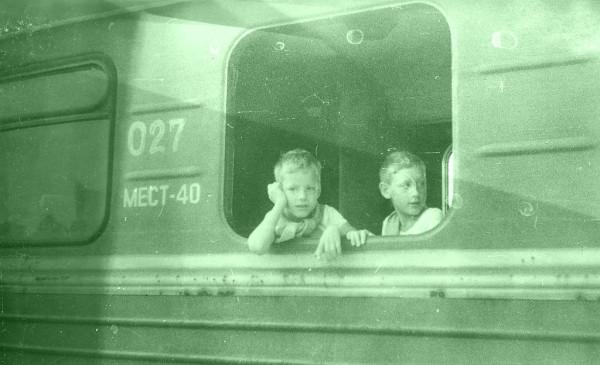 1991 - вагон без стекла