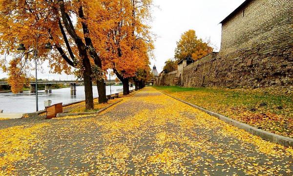 Осень в Пскове