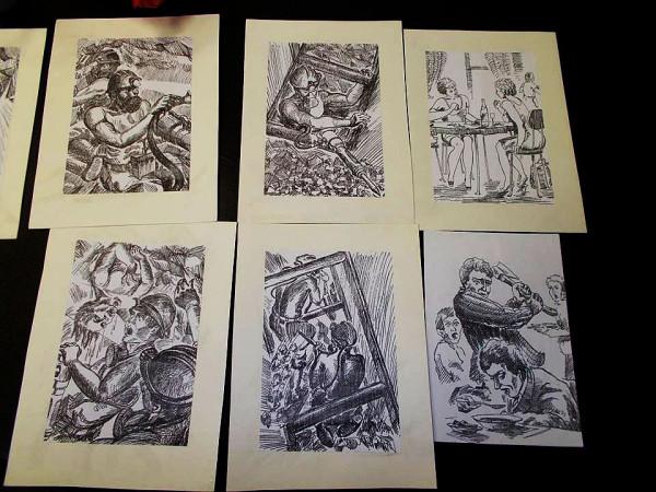 Рисунки Николая Хомутова