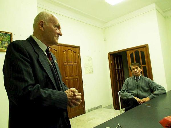 Геннадий Егоров (слева) сент 2018