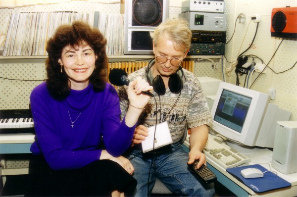 Ирина Егорова в студии
