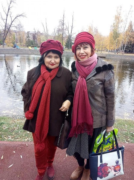Елена Черняева и Лада Аюдаг, Казань, 2018