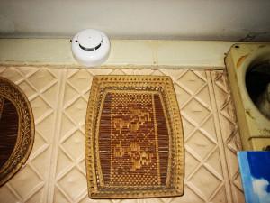 Извещатель ИП212 под потолком