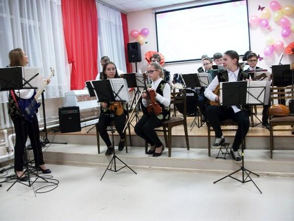 Оркестр в ДМШ №18