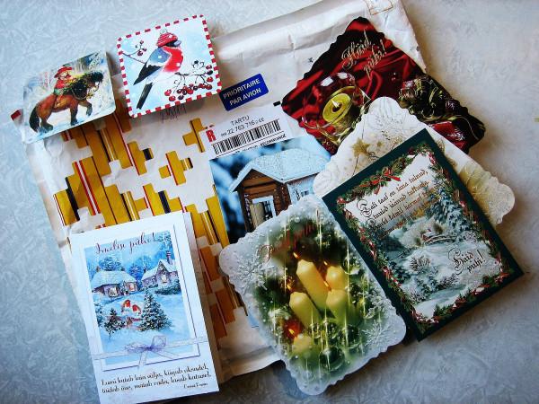 открытки с пакетом