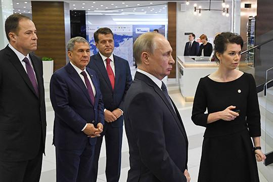Наталия Фишман с Путиным В.В.