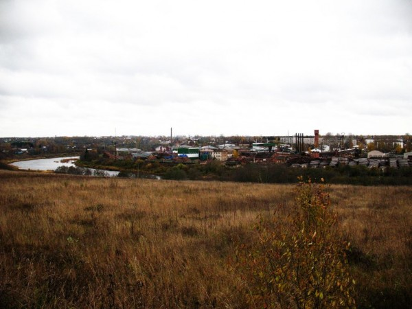Вид на Харовск