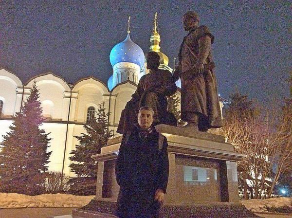 Лев Шлосберг в Казанском Кремле