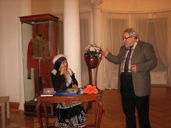 Елена Черняева и Иосиф Хапчик сент 2019