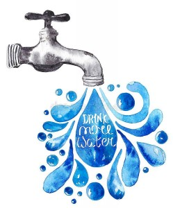 watercolor-faucet-water-drops-over-white-vector-illustration-51217341