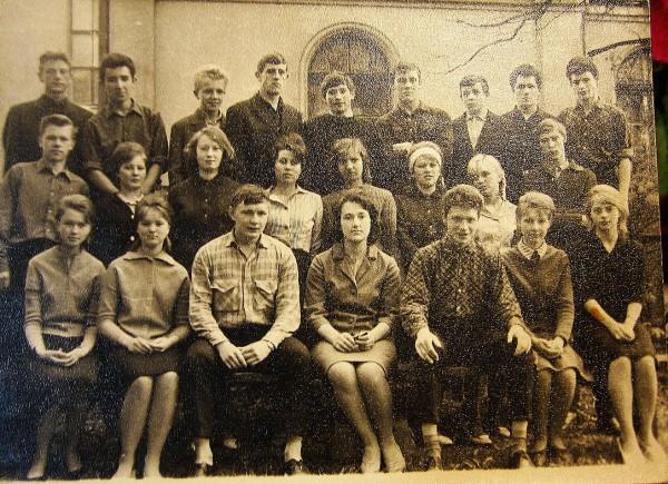 Зоя Юрсон школьный класс Тарту
