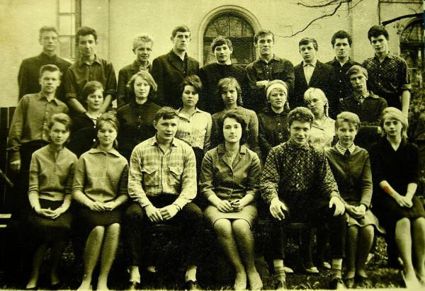 Школьный класс Тарту 1960е