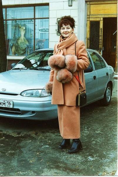 Дина Лебедева 1990-е годы