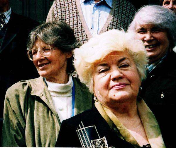 Батукова Людмила Максимовна слева 2005 год