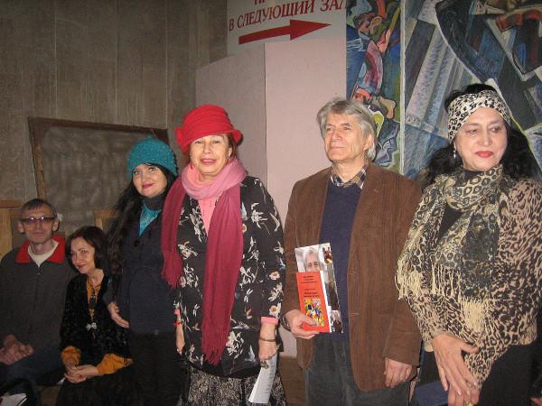 Сергей Крайнов Сания Ибрагимова слева
