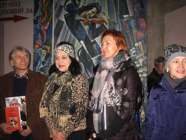 Татьяна Гнездилова вторая слева