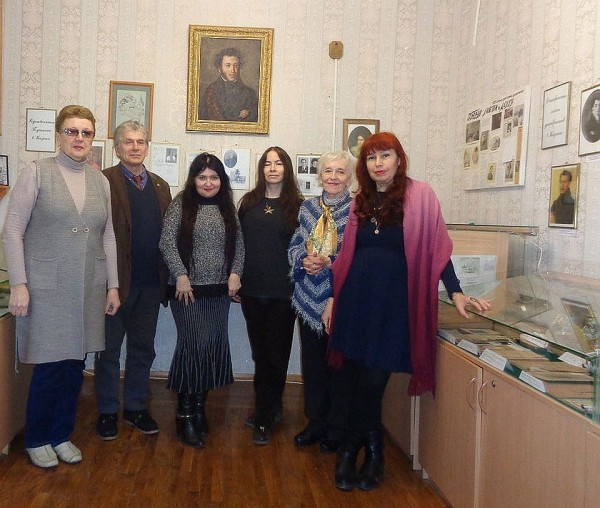 В Музее А.С. Пушкина 10 февраля 2020