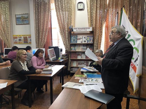 Иосиф Хапчик в Чистополе 11 февраля 2020
