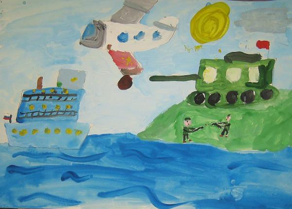 Детский рисунок 1