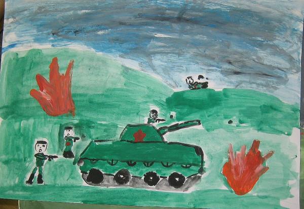 Детский рисунок 3