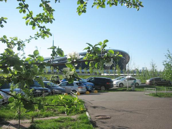 Стадион Казань-Арена 11 мая 2020