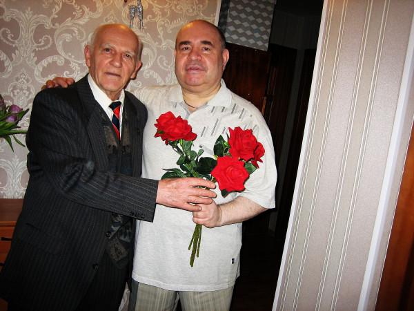 Игорь Дурманов справа Геннадий Егоров 2018