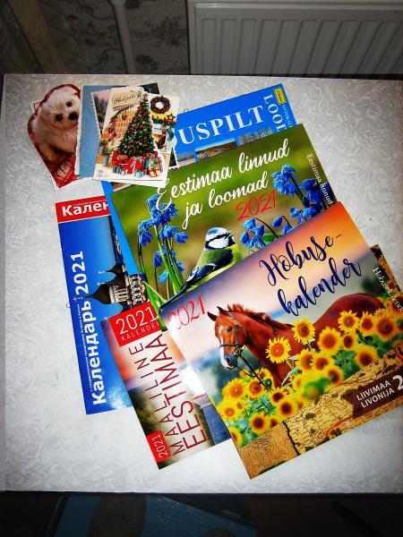 Эстонские календари 1