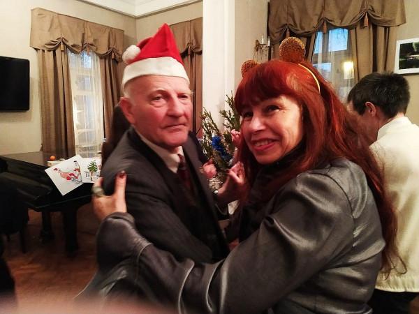 С Ладой Аюдаг в декабре 2019