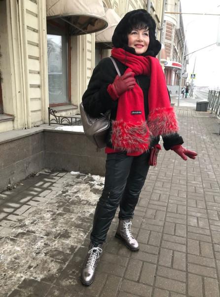Дина Лебедева Казань в январе 2020