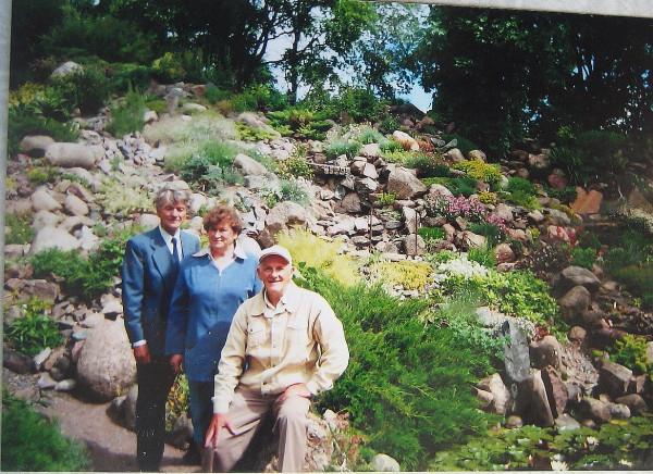 Вальтер Тоотс супруга Геннадий Егоров 2007