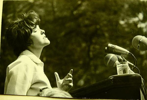 Белла Ахмадулина Михайловское 1967
