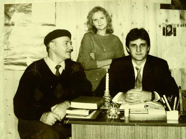 Константинов (справа) Егоров Псков 1995