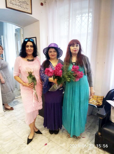 Лада, Елена, Таня справа налево 2021 казань