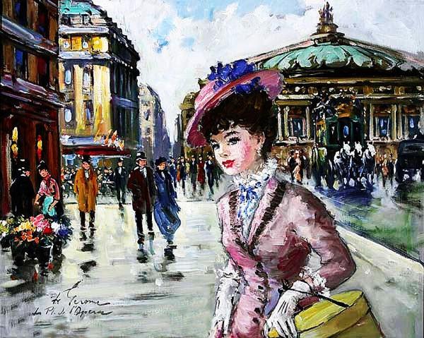 Парижанка картина из ИТ