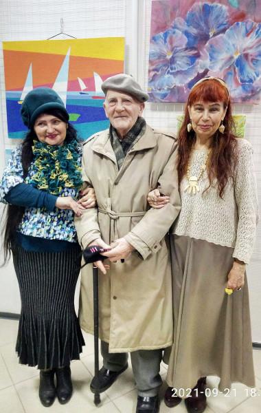 Фото с Егоровым при расставании сент 2021