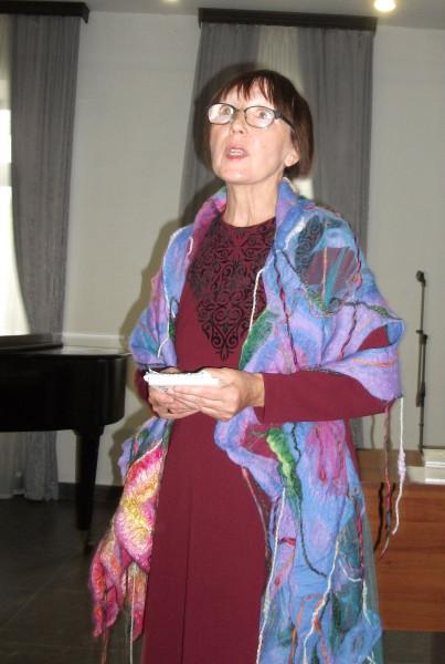 Марина Черемисова ведёт встречу 2 10 21