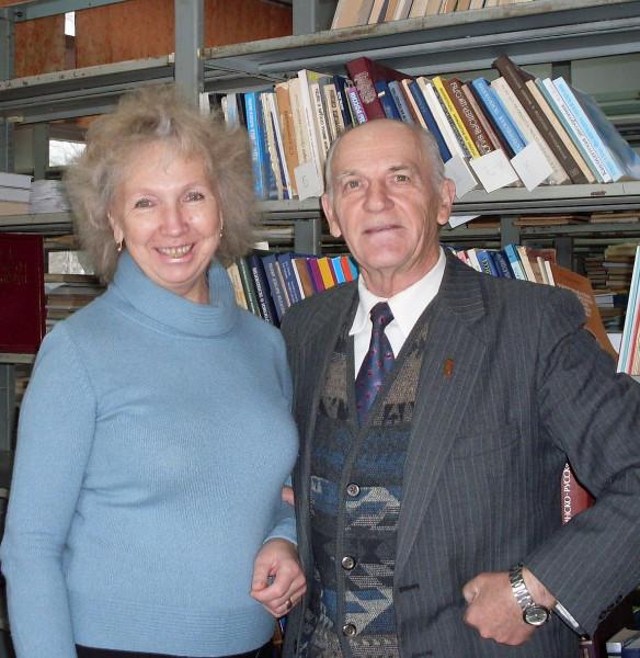 В библиотеке КГУ 2008