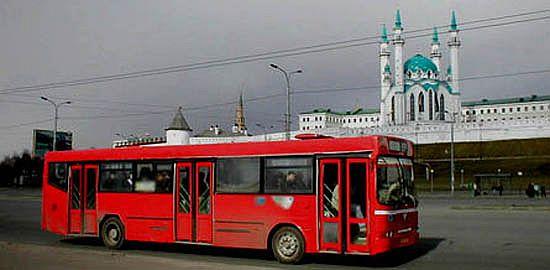 Автобус у Кул-Шариф