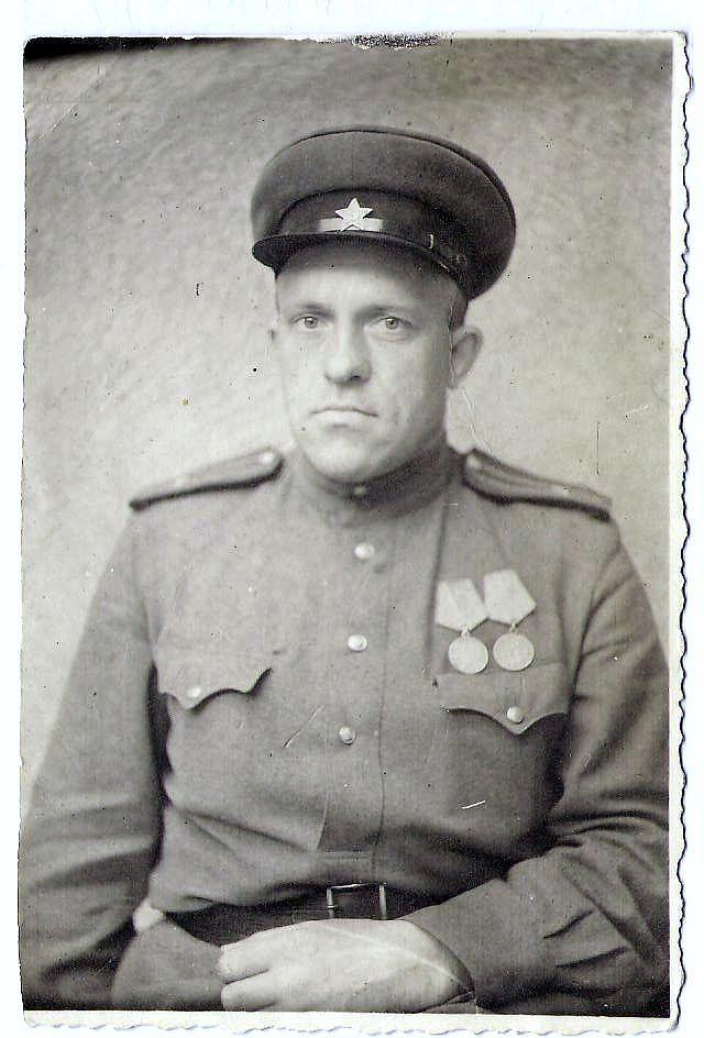 СВ Егоров после войны