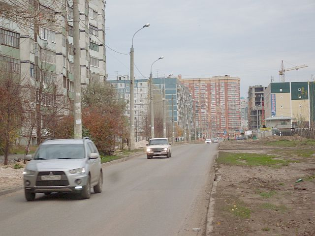 Вид по улице