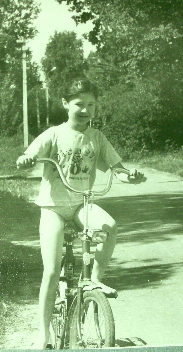 Фа на вело спереди в Рябово 1997 УМ