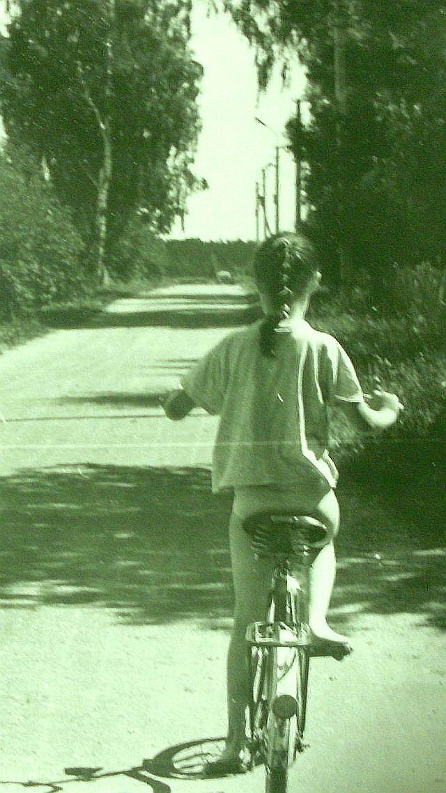 Фа на вело сзади в Рябово 1997 УМ