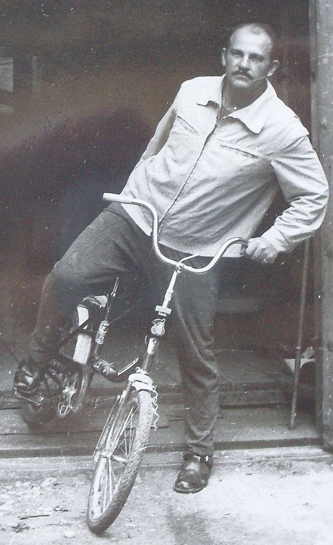 Егоров на вело Апр 1983
