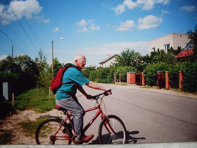 Я на вело в Тарту 2007 УМ