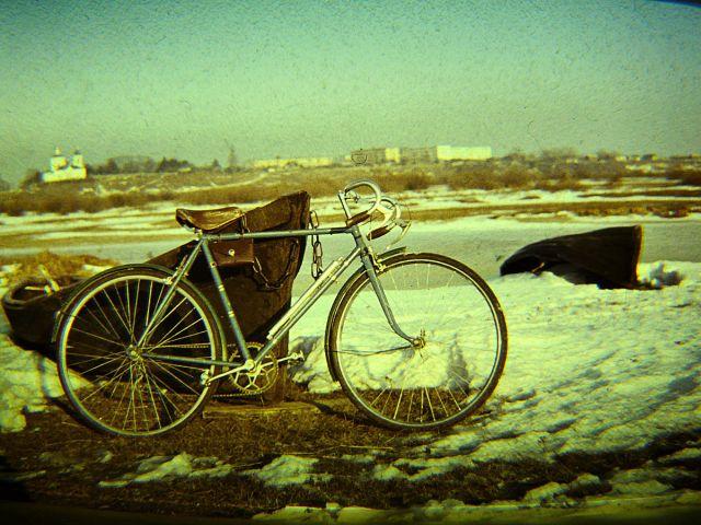 Велосип у лодки