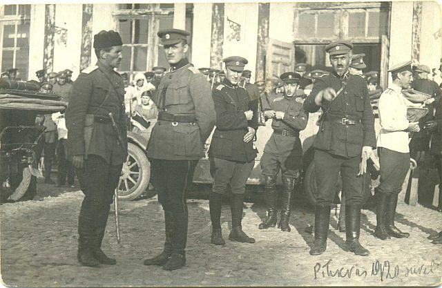 Белые в Пск 1919