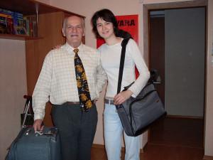 Фа, дед и чемодан 2009 янв