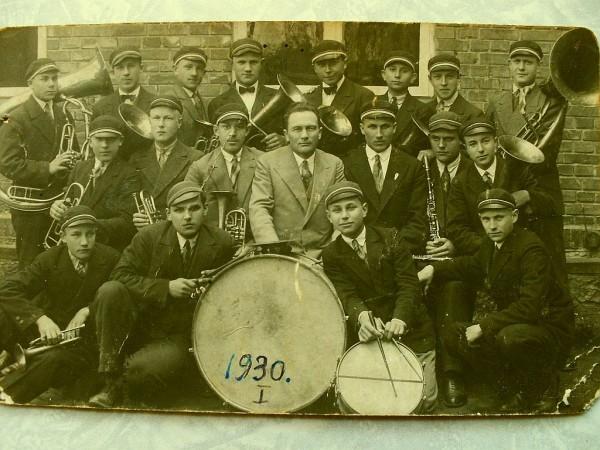 Духовой оркестр Йыгева 1930
