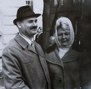 Рудольф с Галей 1976
